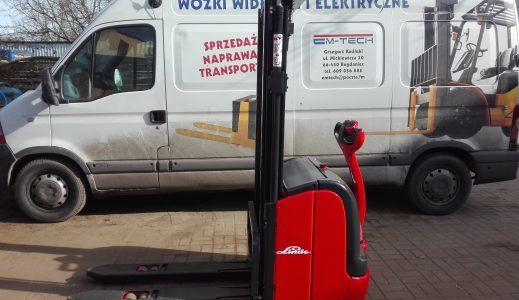 Wózek paletowy z masztem LINDE L16