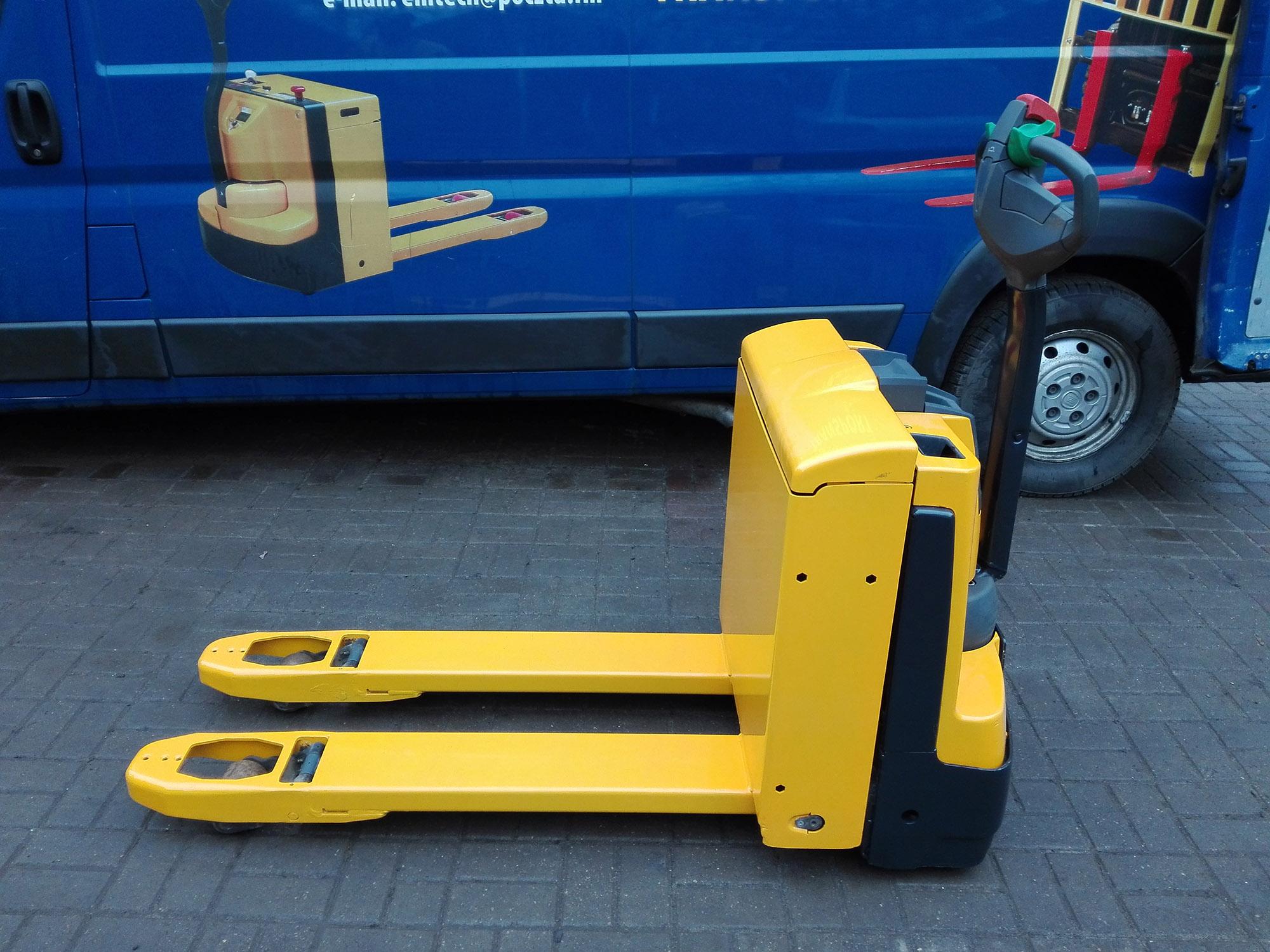 Wózek Paletowy Jungheinrich eje 116