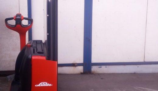 Wózek paletowy elektryczny linde L12