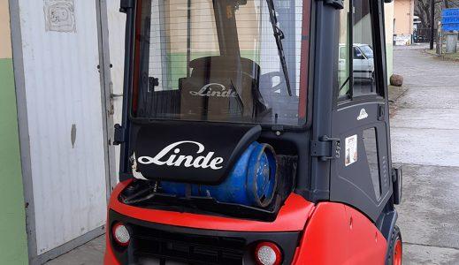 Wózek paletowy elektryczny Linde H16t-01